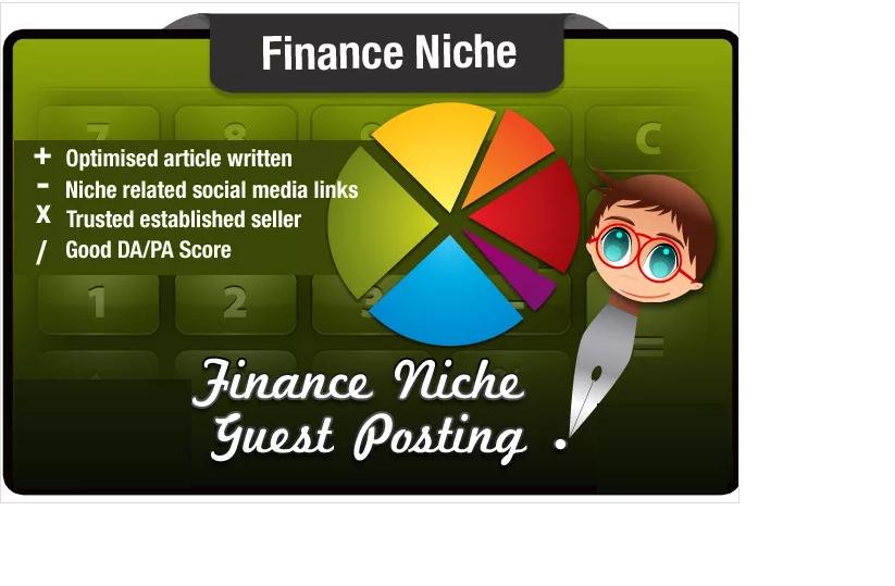 write a Guest Post on a SeoMoz DA29 PA40 Finance Niche Site with FREE Bonus