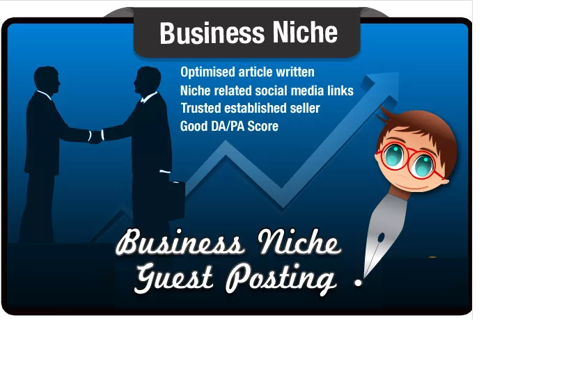 write and Guest Post a Business Niche SEO Optimised Article SeoMoz PA15 DA22