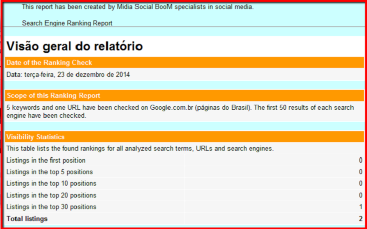 ranking check profissional for your url and keywords