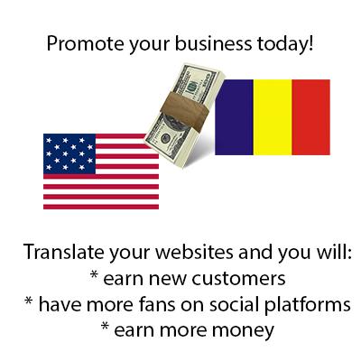 English to Romanian translator
