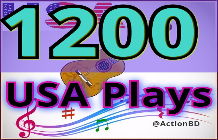 Mini Offer 1200 Safe USA Plays and 20 Likes-Repost, ...