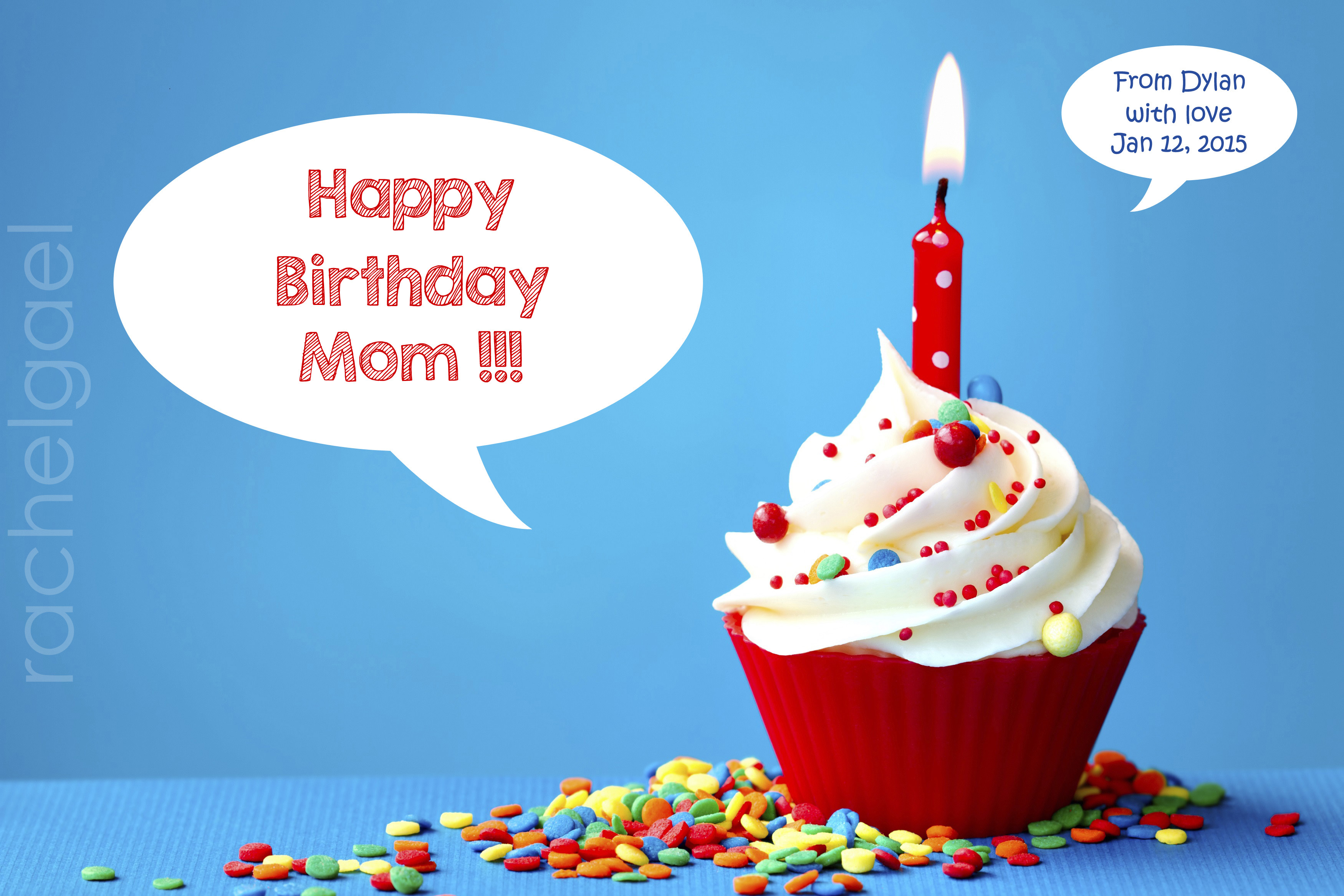 I will create a birthday POSTER with the text you want