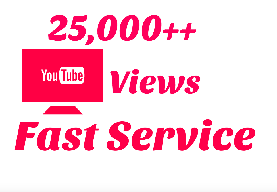 Get 25000 High Retension safe and Non Drop Youtube Promotion