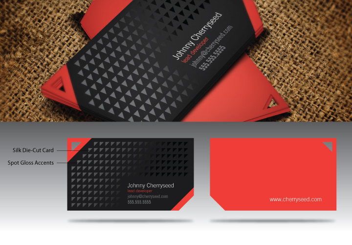 modern business card design