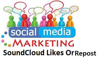 get  550  REAL S C track Promotion  LIKES OR Repost to your profile,real & active