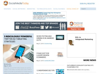 I will publish a Post on Socialmediatoday.com