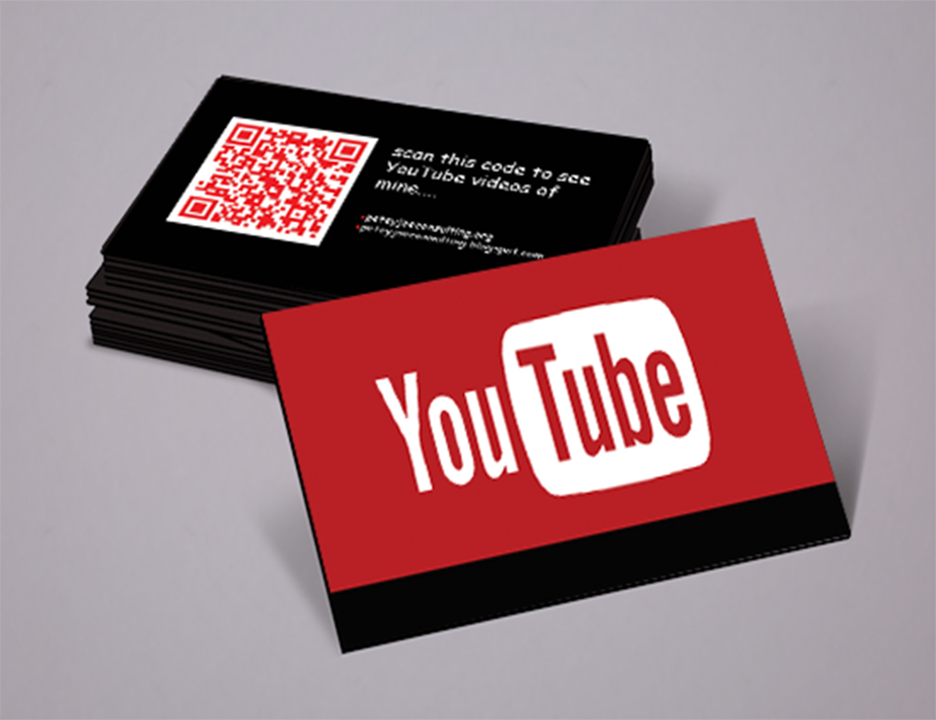 Business Card YouTube for $20 - SEOClerks