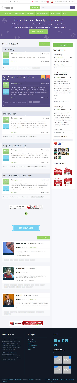 build website like freelancer. com