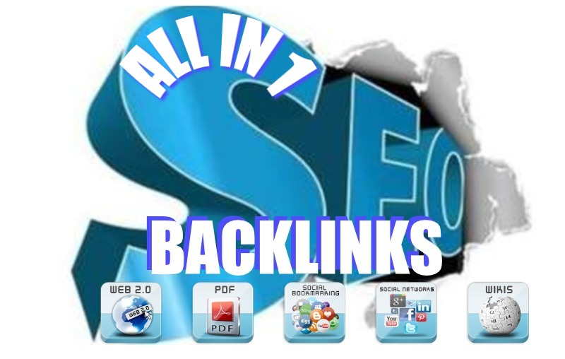 I will Deliver The All In One SEO Backlink Package