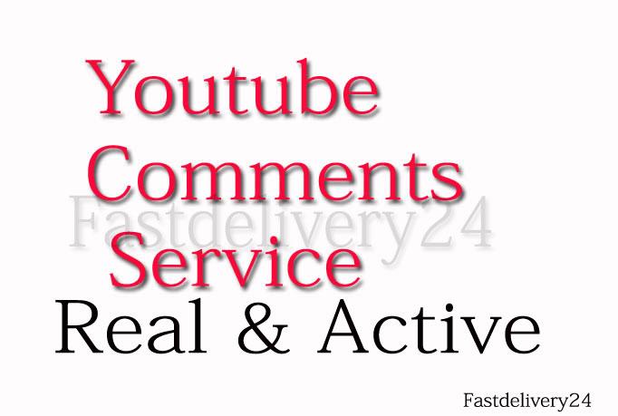 Social Media Custom 75 Comments only