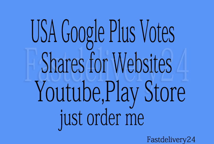 will give 50 Google Plus votes and 50 Lnkdn Sh are For Your Website