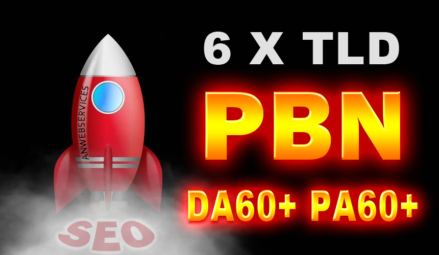 6 High Authority PBN Contextual Backlinks On PA 60+ TLD Blogs