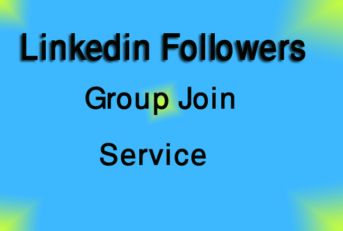 I give you 100 Linkedin Group join or Linkedin Followers Only