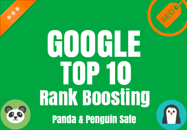 Google Top 10 Rank Boosting - White Hat SEO