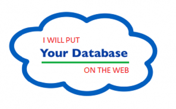 I will put your database on the web