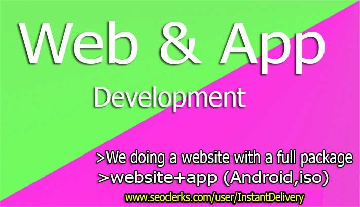 I Will Android App, Iso App, Full Website, Development Only