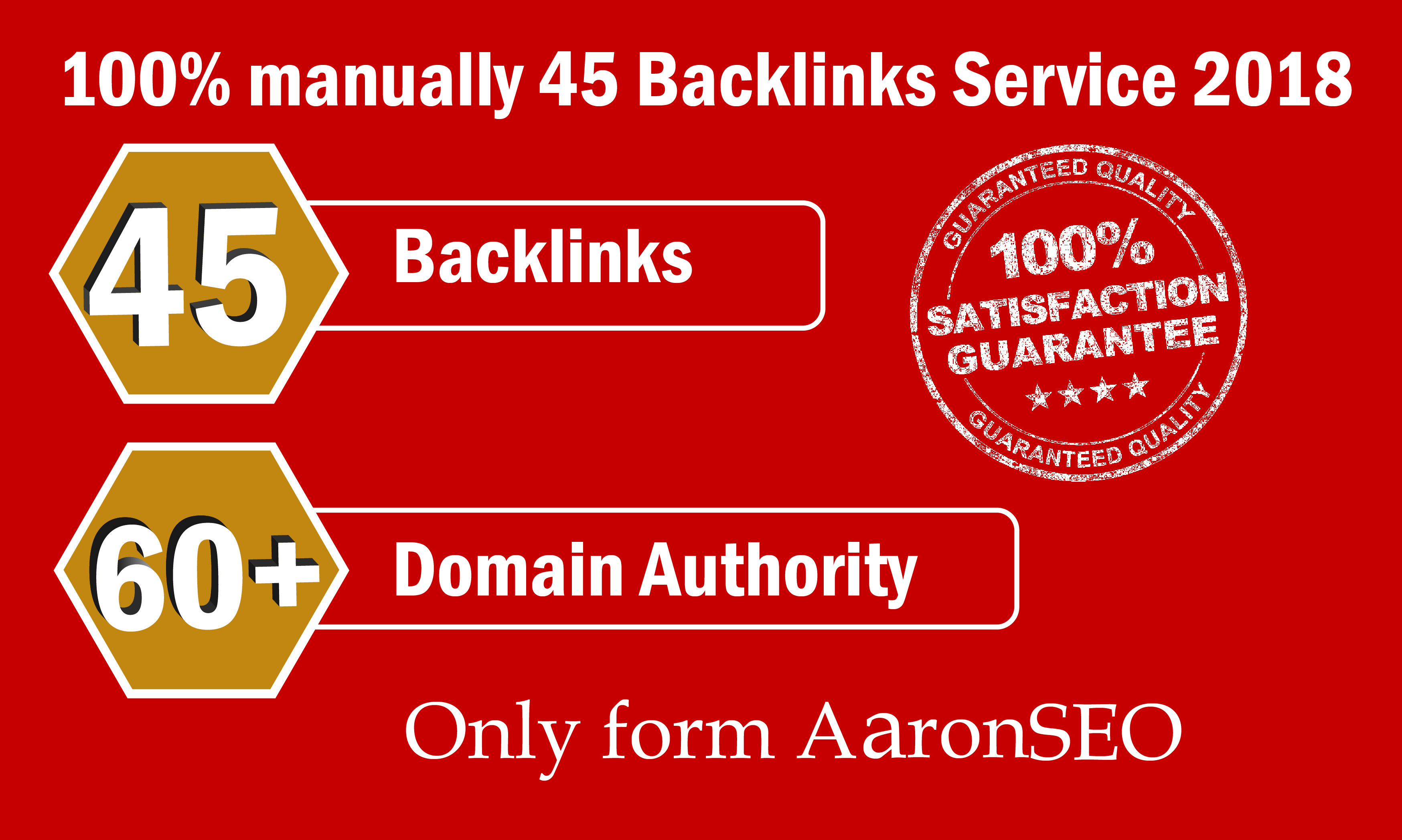 Limited Time- 45 Backlinks from High DA-60+ Domains-S...