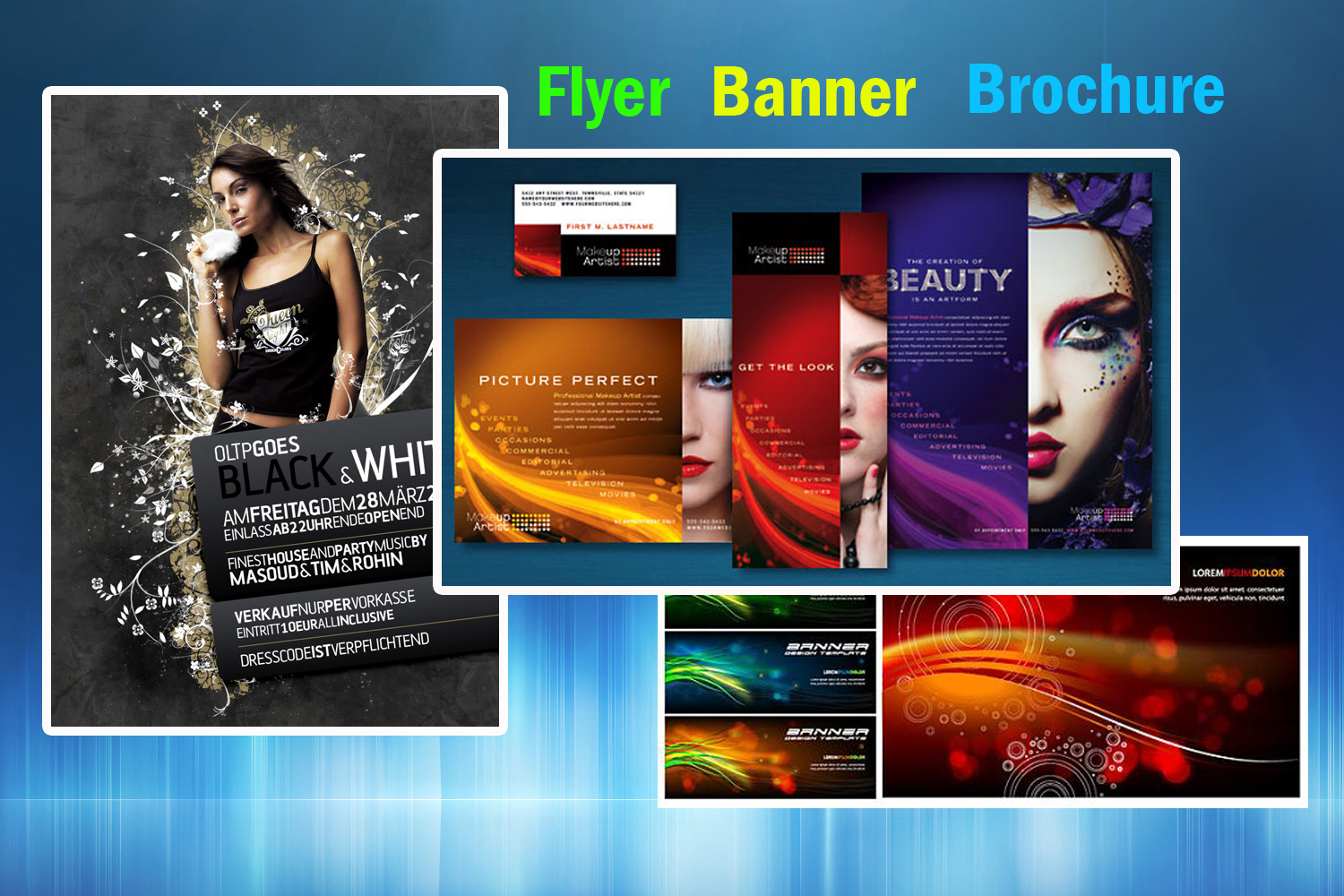 design creative eye catching flyers and brochures for 5 seoclerks