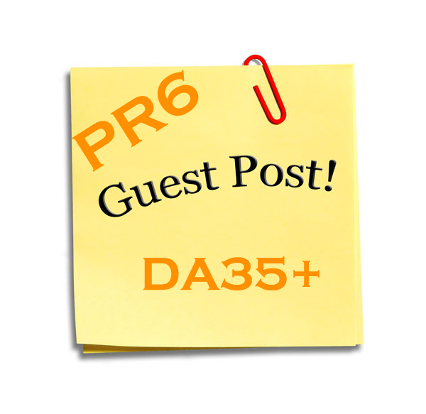 I will guest blog post on my PR6 blog with Do-Follow link