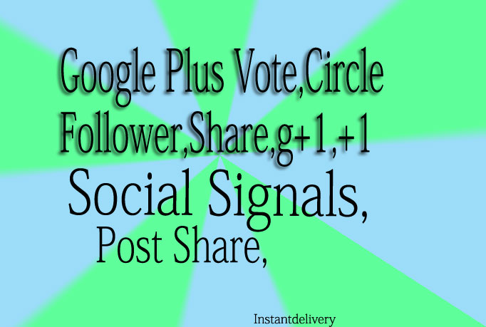 100 REAL Google plus Circle Follow Upto 2,000 from Extras