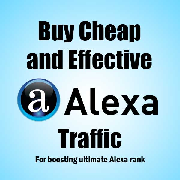 1000 real and human Traffic from Alexa.com with in 24-48 hours
