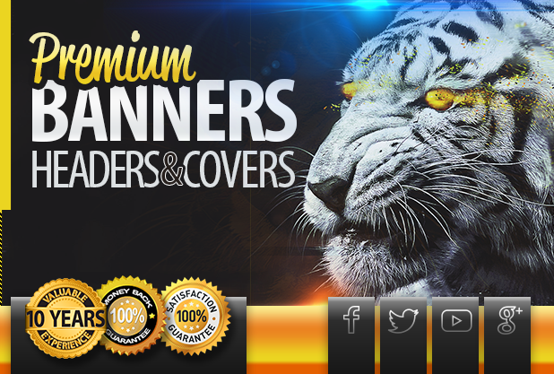Professional Static or Animated Banner