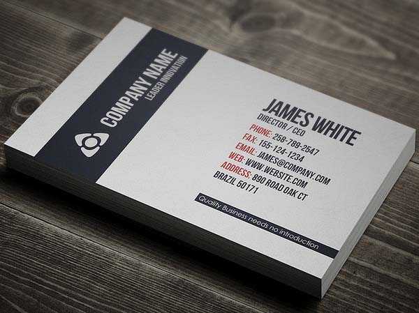 I will design stylish business card for 5 seoclerks i will design stylish business card colourmoves