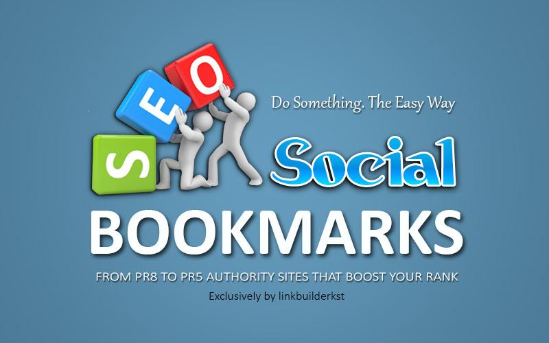 30 Manual Top Social Bookmarks PR4 to PR8, Full Detailed Report