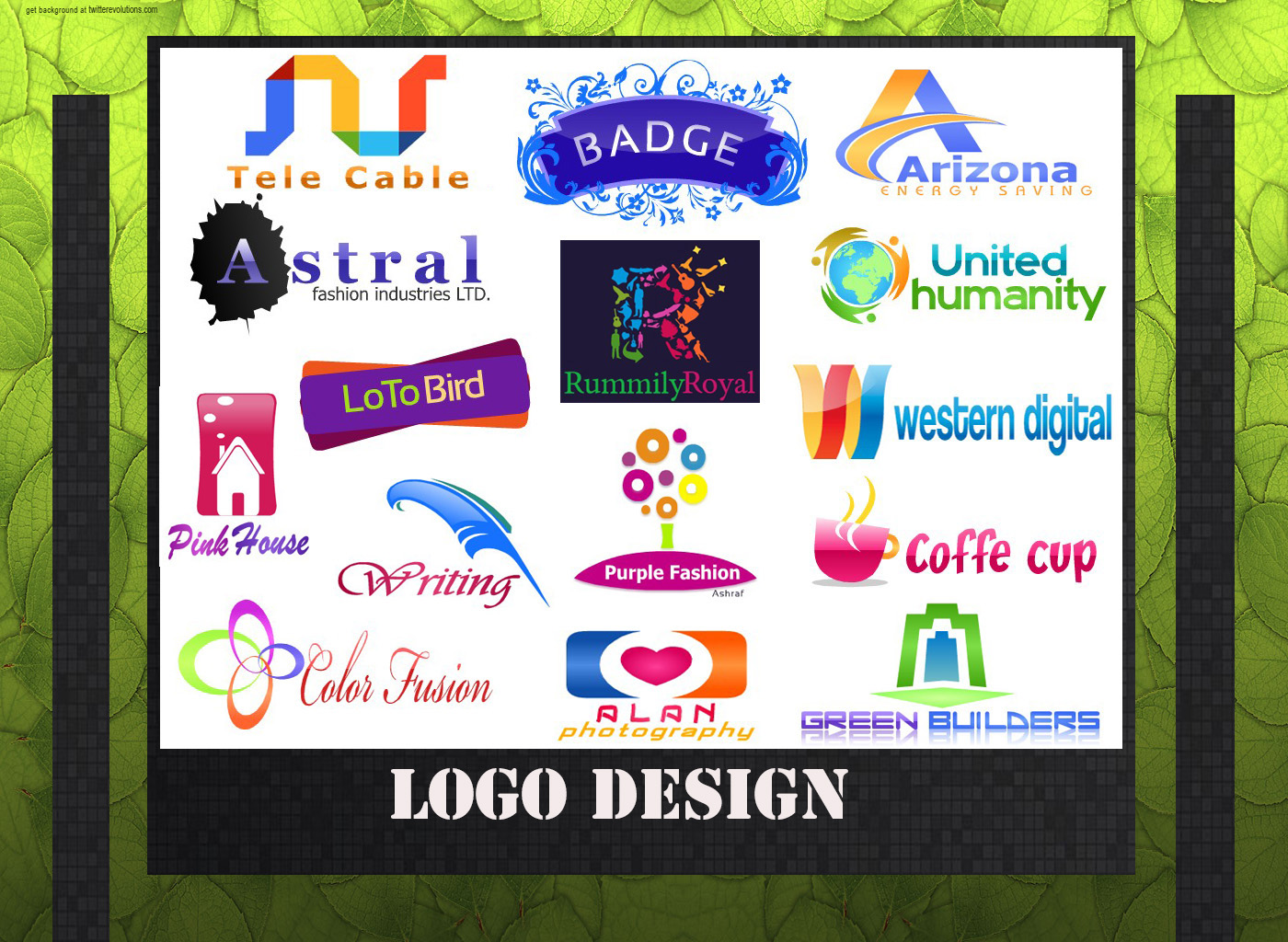 I will design awesome LOGO