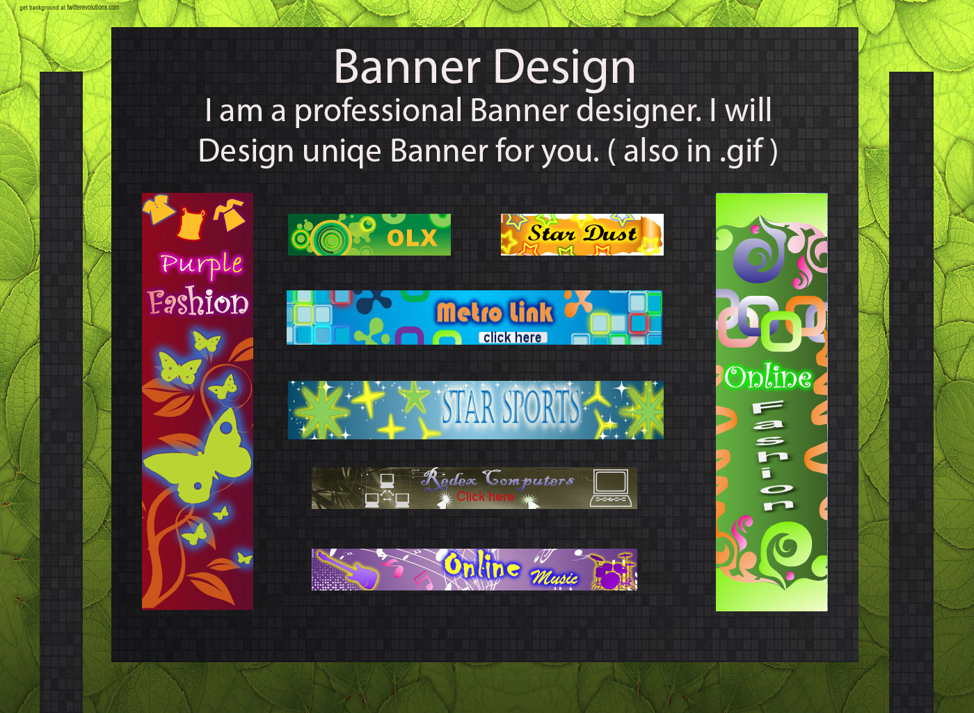 I will create awesome Banner