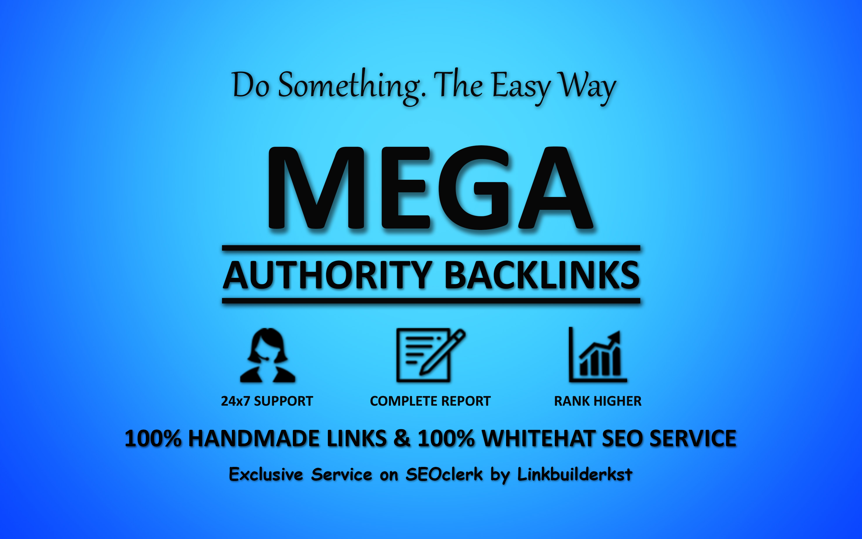 Mega Authority Backlinks - WhiteHat SEO Service To Skyrocket Your Google Rankings