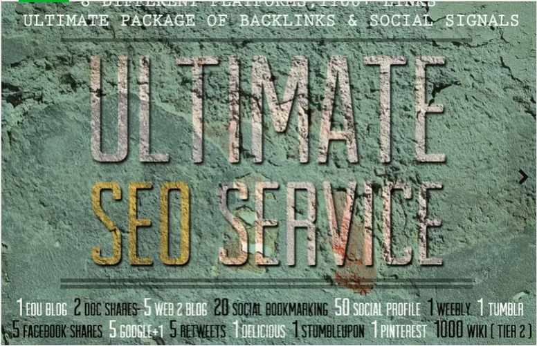 I will provide All In One Ultimate SEO Service