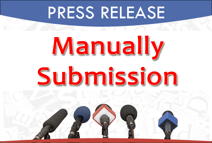 i will do 25 Press Release Submission Manually