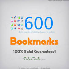 I will do seo social BOOKMARK to 600 sites for your website blog or youtube
