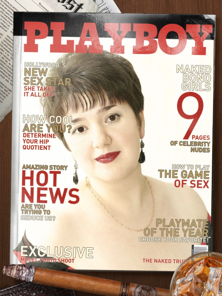 I will make your photo on Playboy magazine cover