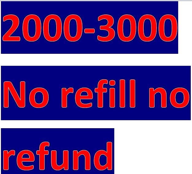 Get 2000 safe youtub.e  vie,ws NO refill guarantee   price