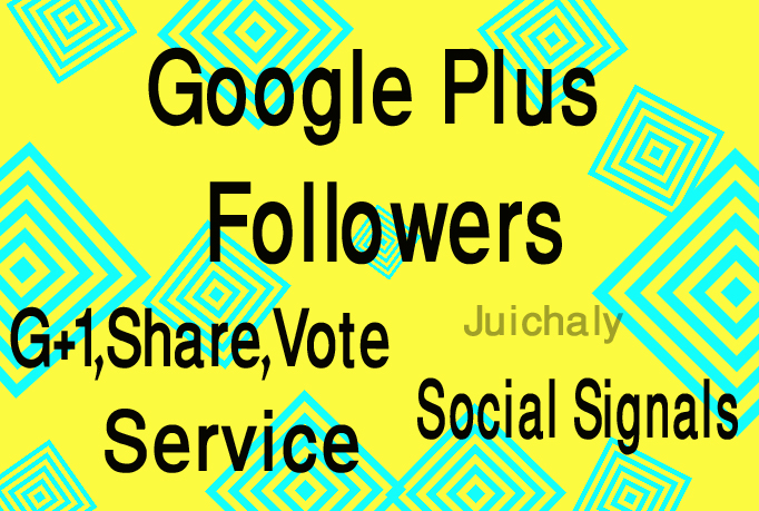 Give 500+ Google Plus Circle Followers or 500+ Google...