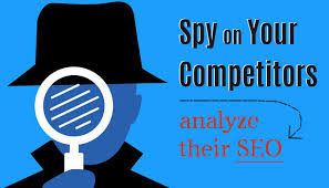 I will spy on your competitors site