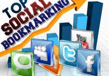 I will do 2000 high PR social bookmarking backlinks for your whole site for 10