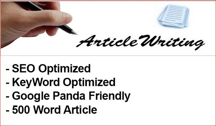 I will Write 2 articles of 500+ words with SEO Optimisation