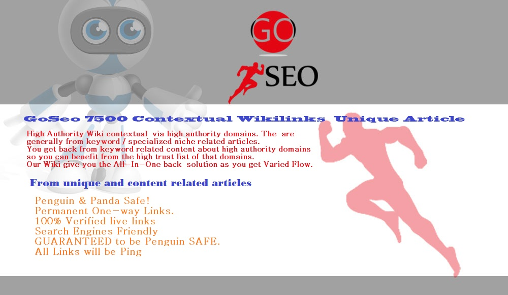 Wiki Backlinks Blast 7500 Contextual Wiki backlinks Unique Article