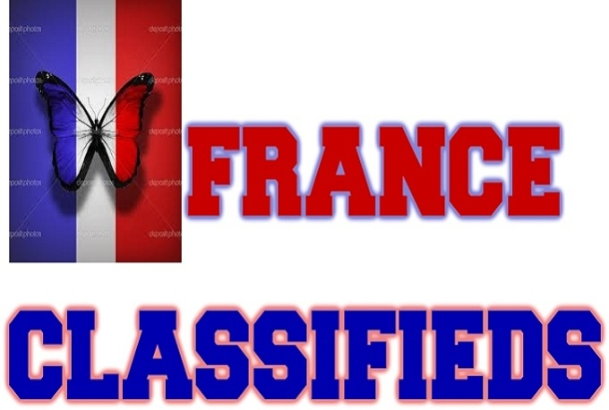 I will promote your business or product in 10 high PR France classifieds