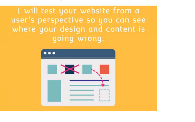 test your website from a users perspective and record it via screencast