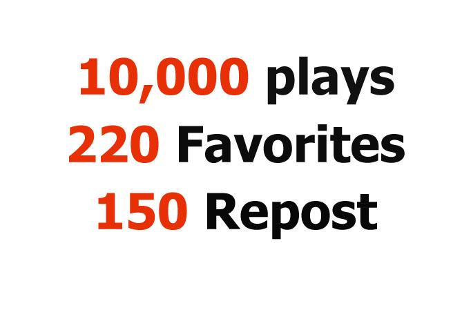 Add 10000 Amazing Plays, 220 Favorites PLUS 150 Repo...