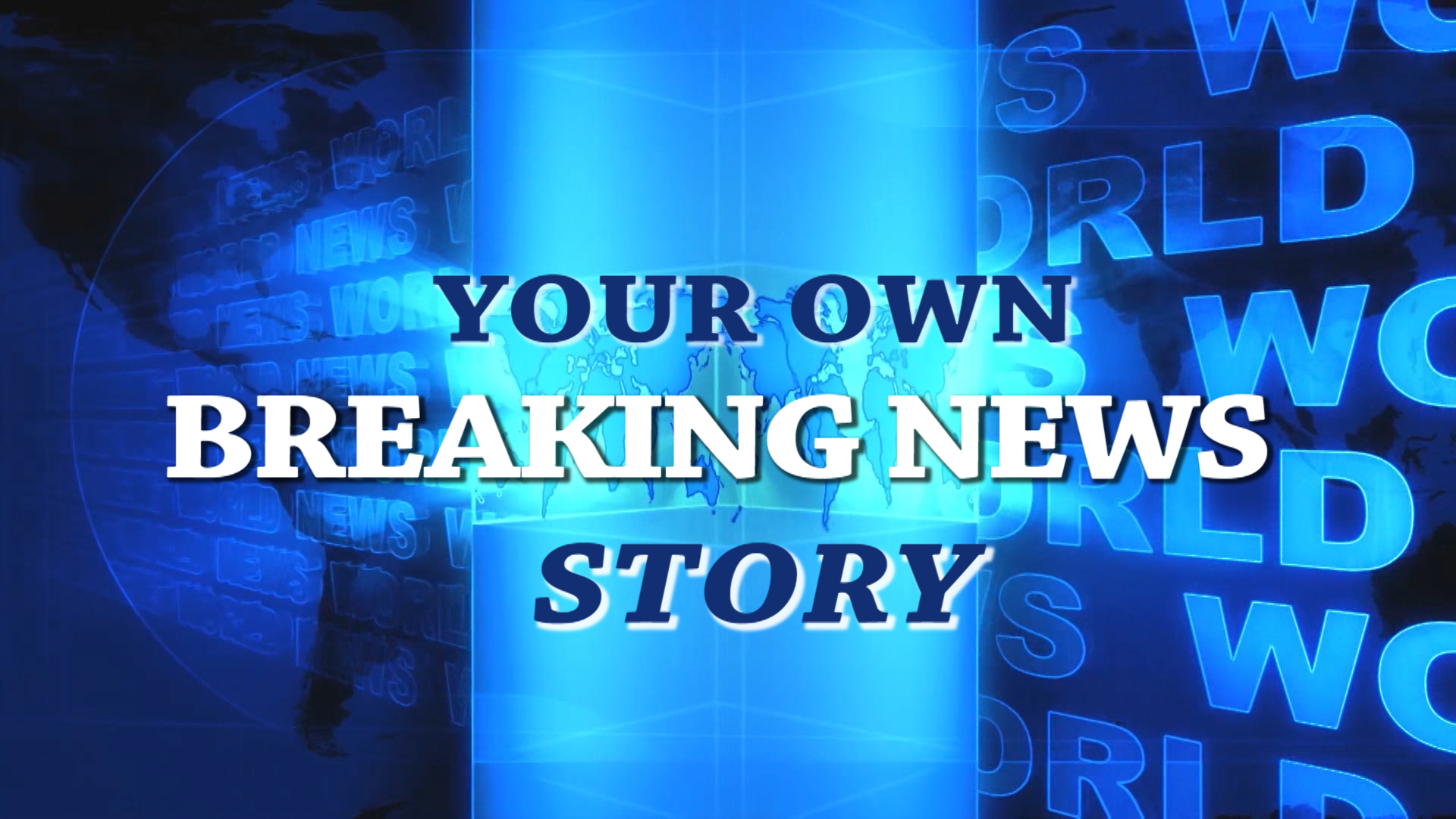 I Will Record Your BREAKING NEWS TV News Story