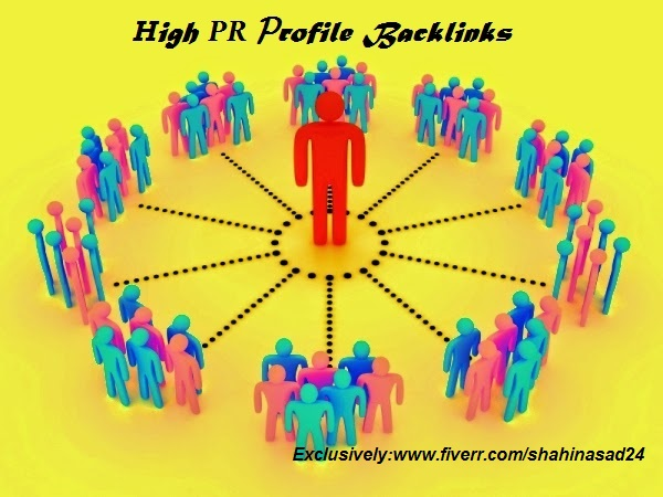 I will do 50 High authority PR7 to PR9 profile back links with anchore text