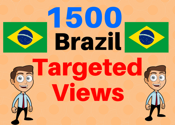1500 BRAZIL TARGETED traffic to your web or blog site. Adsense safe and Good Alexa rank