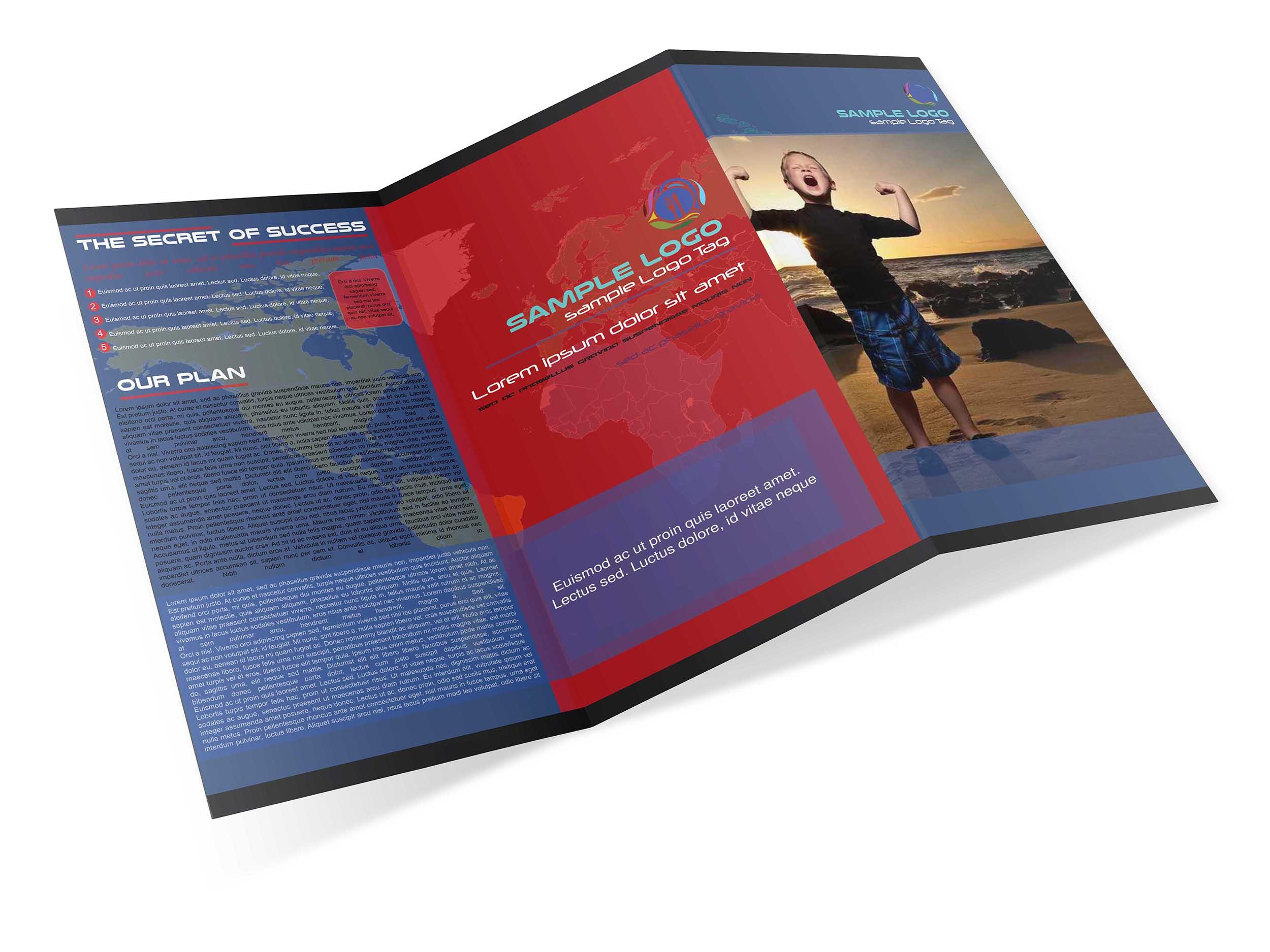 I will create or make  Creative Brochure