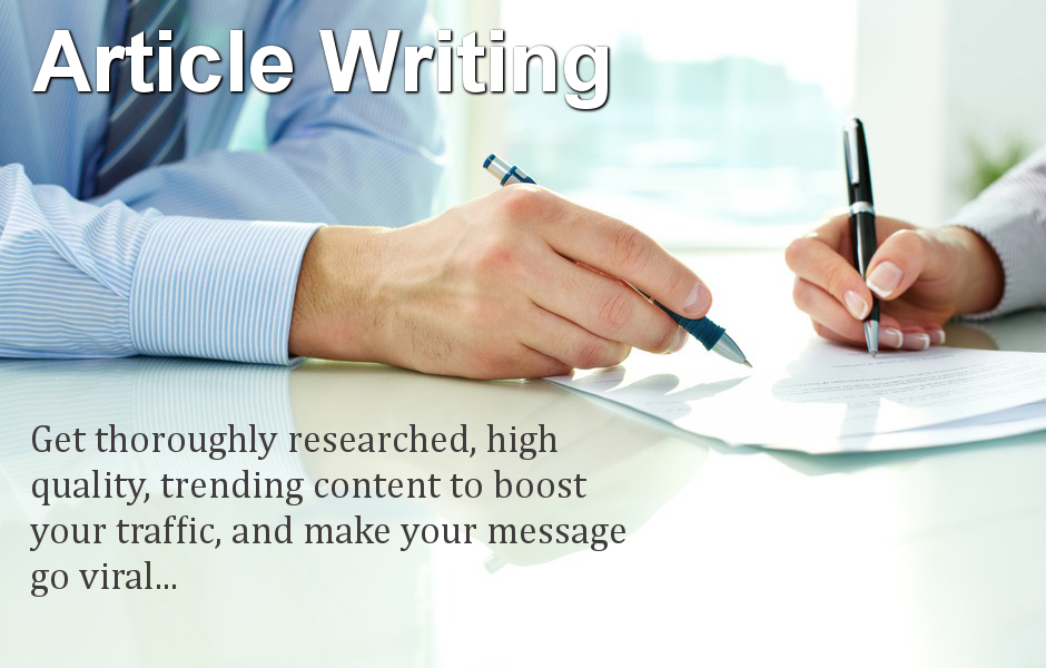 Articles to write
