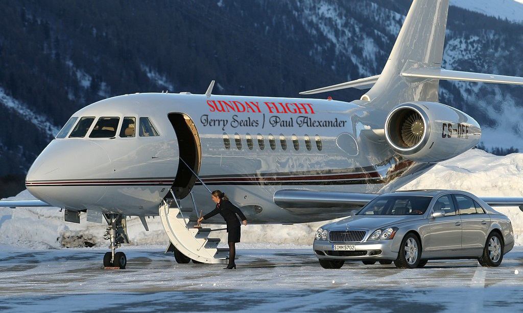 Place your logo on a private jet